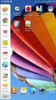 Galaxy Mega 6.3 может легко разместить на экране два приложения одновременно