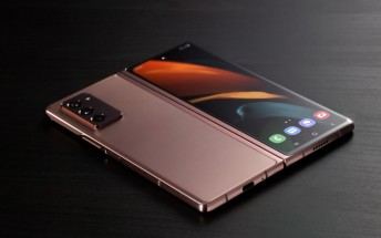 Samsung's Galaxy Z Fold2 infographic covers the basics