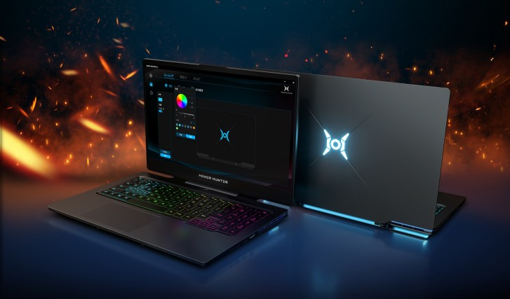 Honor unveils its first gaming laptop - the Hunter V700