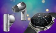 New render shows Huawei FreeBuds Pro in Silver, Watch GT2 Pro also leaks