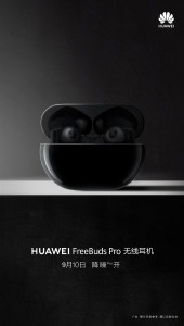 Huawei FreeBuds Pro tease