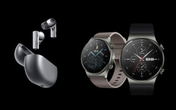 Huawei Watch GT2 Pro and FreeBuds Pro ANC earphones debut