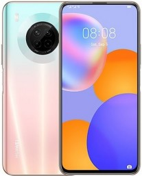 Huawei Y9a in Sakura Pink color