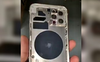 Leaked clip claims to showcase iPhone 12 Pro chassis and back design