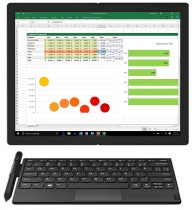 Lenovo ThinkPad X1 Fold and its Bluetooth keyboard