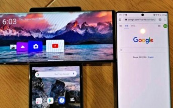 LG Wing leaks in live shots, with first look at its special UI