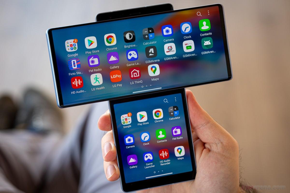 LG wing tech 2020 smartphone