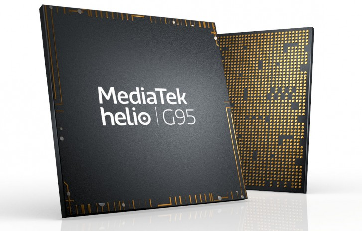 MediaTek's Helio G95 comes with slightly overclocked GPU, same core specs as G90T
