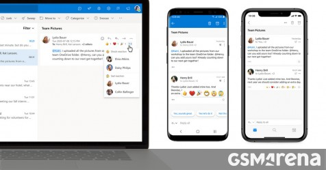 Microsoft announces new voice assistant for Outlook, adds new features to the email app - GSMArena.com news - GSMArena.com