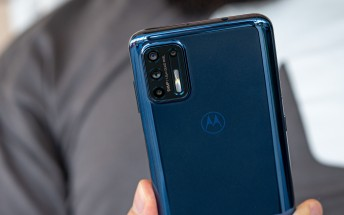 Moto G9 Plus in for review