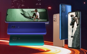 Motorola G9 Play comes to Europe at £160/€170, Moto G9 Plus and E7 Plus will follow soon