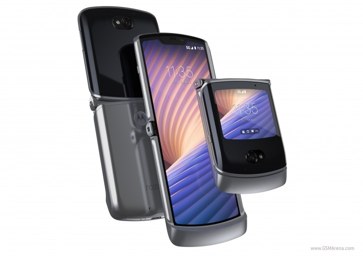 Motorola Razr 5G in Liquid Mercury