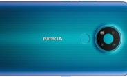 Nokia 3.4 appears in blue color in new render