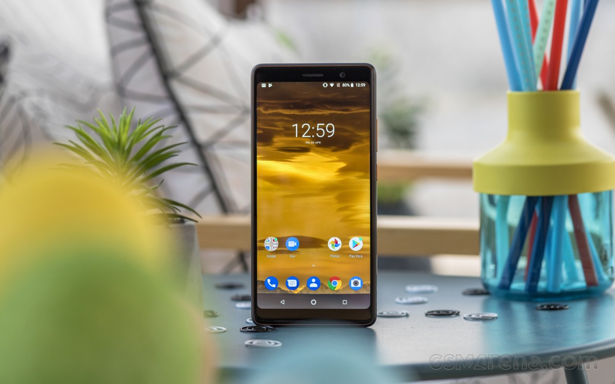 Nokia 7 Plus running Oreo at review time in 2018