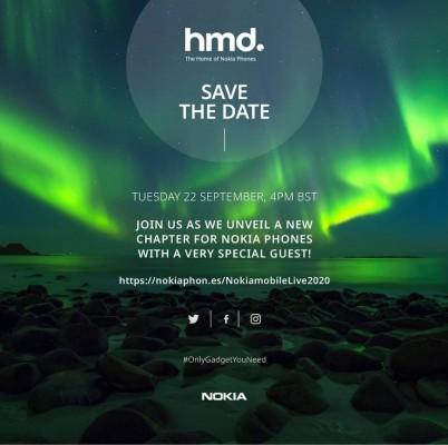 HMD ill unveil new Nokia phones on September 22