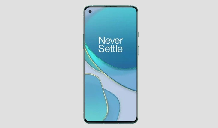 OnePlus 8T render leaks in Android 11 Developer Preview