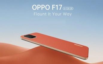 Oppo F17 price revealed as pre-orders begin