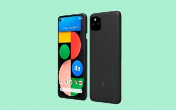 Google Pixel 4a 5G official renders appear alongside full specs