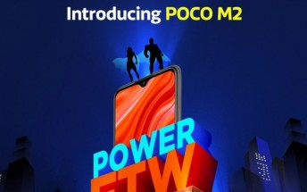 Poco M2 is arriving on September 8 with big display and big battery