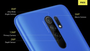 Poco M2 comes with four rear cameras