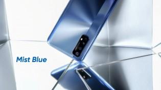 Realme 7 in Mist Blue color