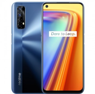 Realme 7 in Mist Blue color
