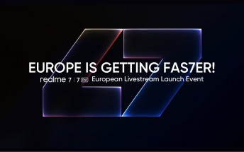 Realme 7 series coming to Europe on October 7