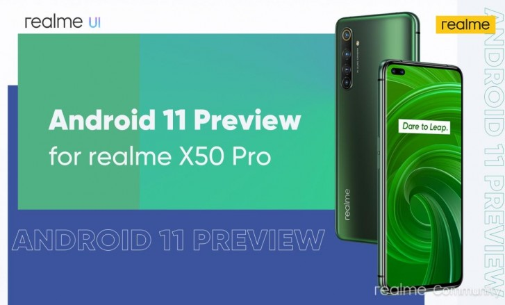 Realme X50 Pro is already getting Android 11 preview
