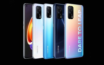 Realme X7 and Realme X7 Pro are official, Realme V3 tags along