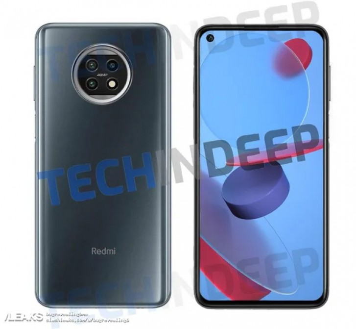 "Redmi Note 10 renders leak along with live images of ""Oreo"" shaped triple cameras"
