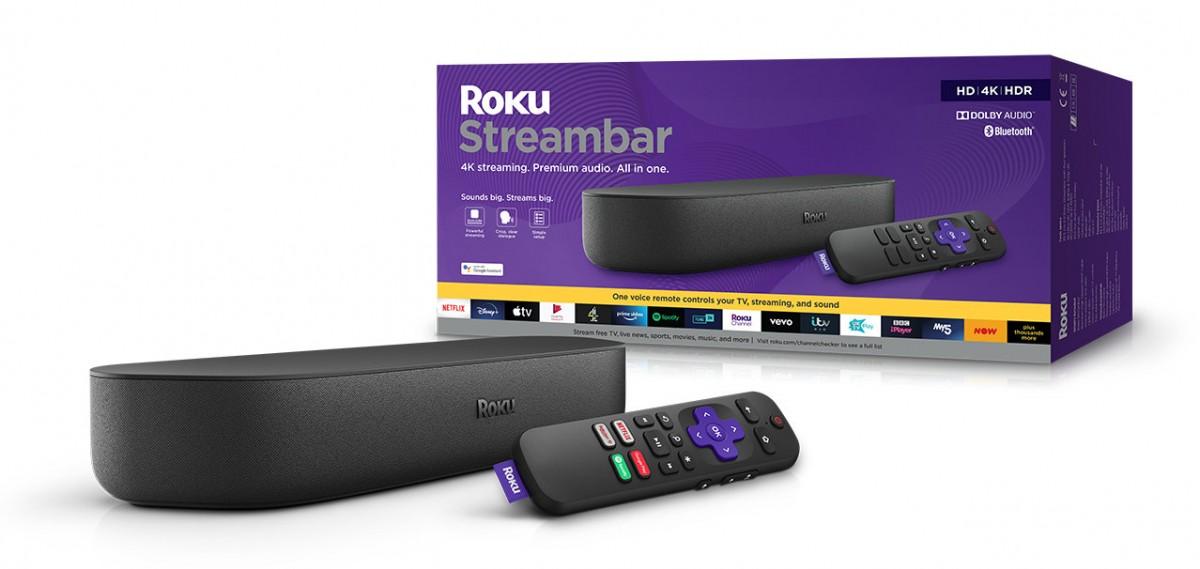 Roku introduces Streambar and updated Roku Ultra