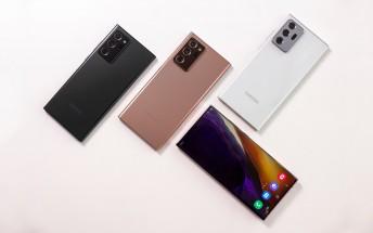 Samsung Galaxy Note20 Ultra 5G BoM is $550, analysts estimate
