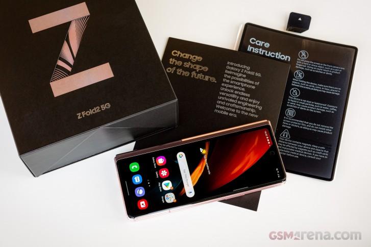 Prise chaude: Samsung Galaxy Z Fold2