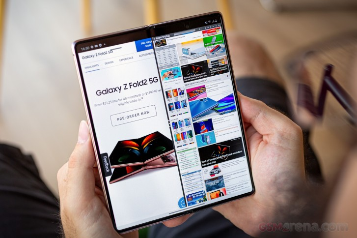 Samsung Galaxy Z Fold2 in for review