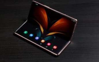 Check out our Samsung Galaxy Z Fold2 video