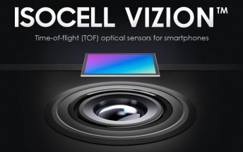 Samsung developing its own 3D ToF sensor called ISOCELL Vizion