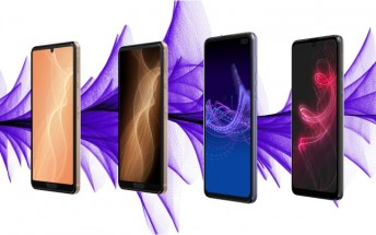 Sharp unveils four new smartphones, two of which with 5G