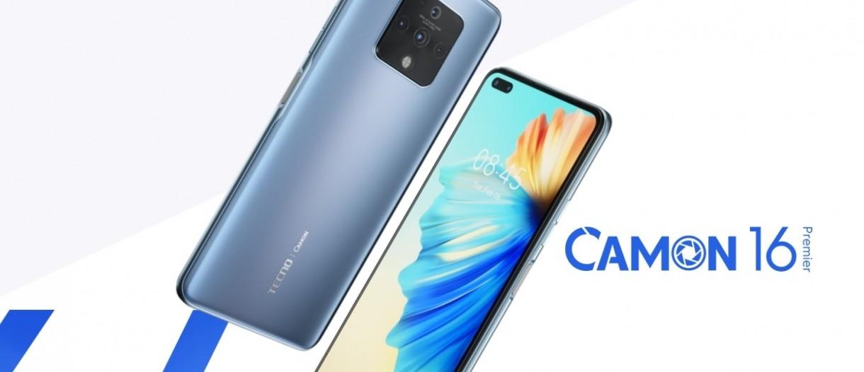 Tecno introduces Camon 16, 16 Pro and 16 Premier - GSMArena.com news