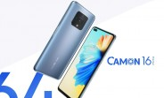Tecno introduces Camon 16, 16 Pro and 16 Premier