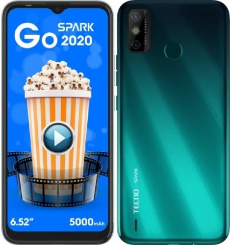 Tecno Spark Go 2020 announced: 6.52'' display, 5,000 mAh battery, and Android 10 (Go Edition)