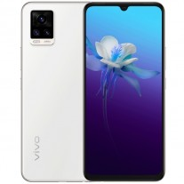 vivo V20 in Black, White, Gradient