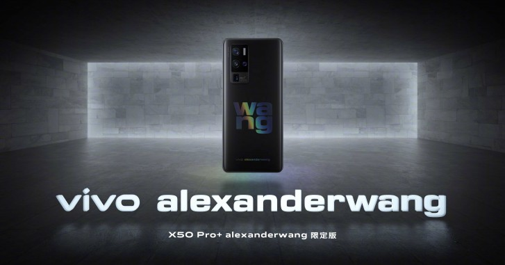 vivo X50 Pro+ to arrive in special Alexander Wang Edition