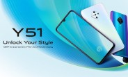 New vivo Y51 announced with Snapdragon 665 SoC, AMOLED screen, and 48MP quad camera