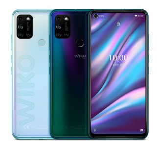 Wiko View5 Plus (available in Iceland Silver and Aurora Blue)