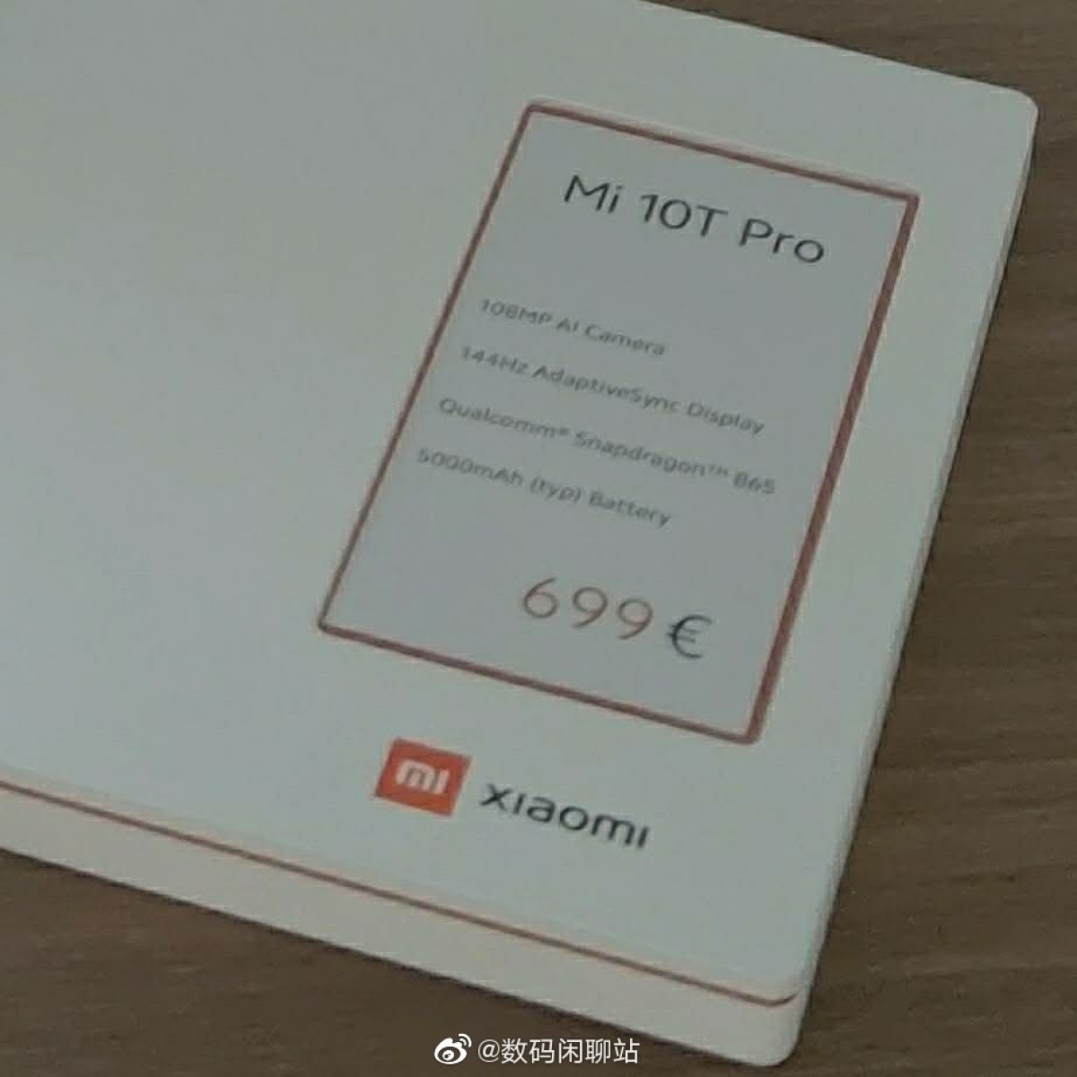 Xiaomi Mi 10T Pro to arrive in Europe, to cost €699