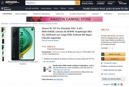 Xiaomi Mi 10T Pro on Amazon Spain (page taken down)