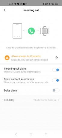 Incoming Call Alert