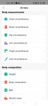 Amazfit's Android app needs some decluttering
