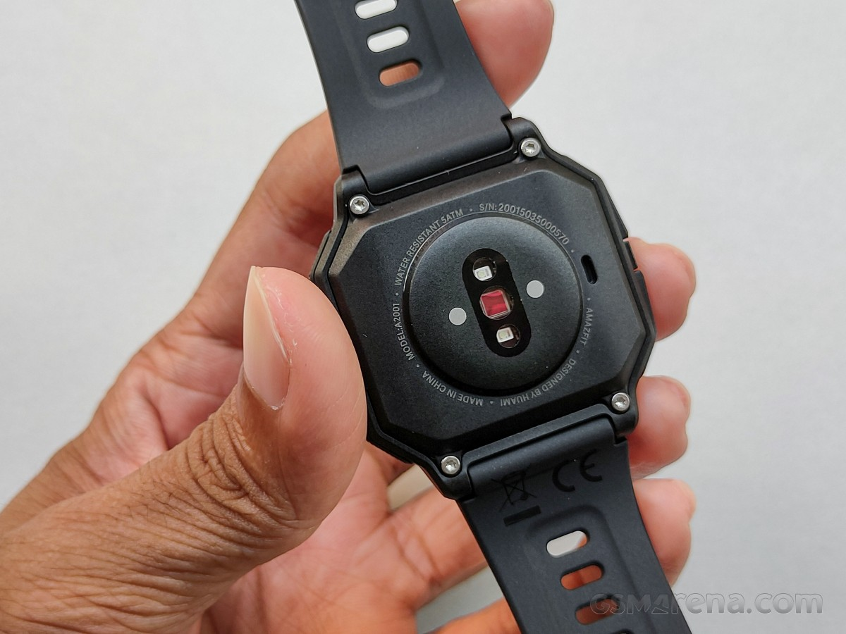 PG Bio-Tracking Optical Heart Rate Sensor on Amazfit Neo