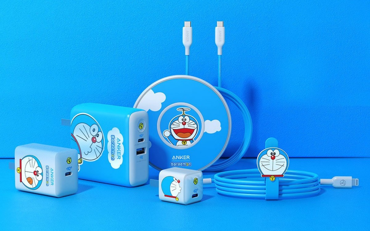 Anker unveils new iPhone 12 charging accessories, Doraemon-themed versions available on Wednesday